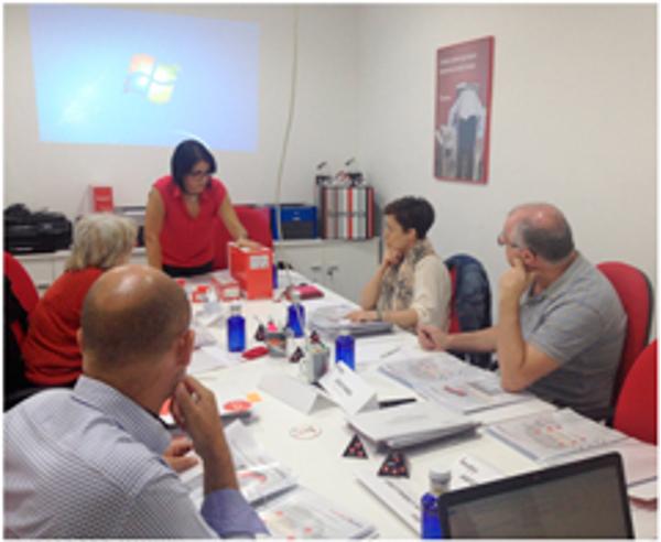 Las nuevas franquicias Berolina de Denia, Sevilla y Navarra recibieron su curso de formación