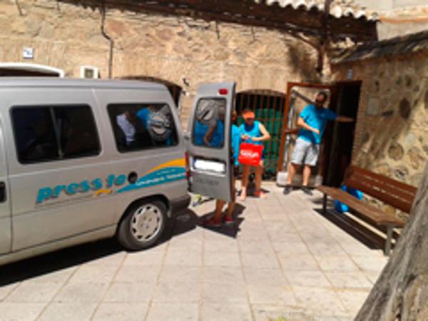 La franquicia Pressto Toledo colabora con la ONG Socorro de los Pobres