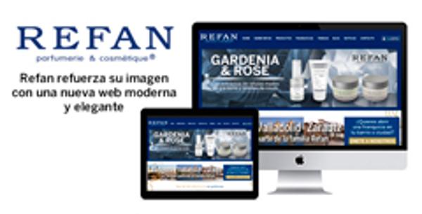 Refan refuerza la imagen de sus franquicias con una nueva web moderna y elegante