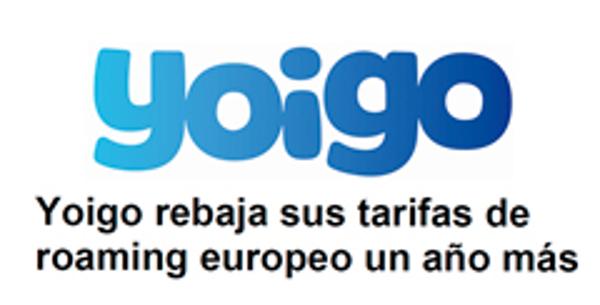 La red de franquicias Yoigo estrena las vacaciones bajando sus tarifas de Roaming