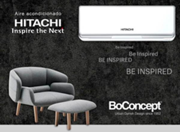Las franquicias BoConcept y Aire acondicionado Hitachi: confort en el hogar