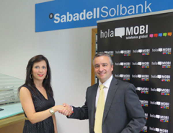 La red de franquicias holaMOBI y Banco Sabadell llegan a un acuerdo para la financiación de emprendedores