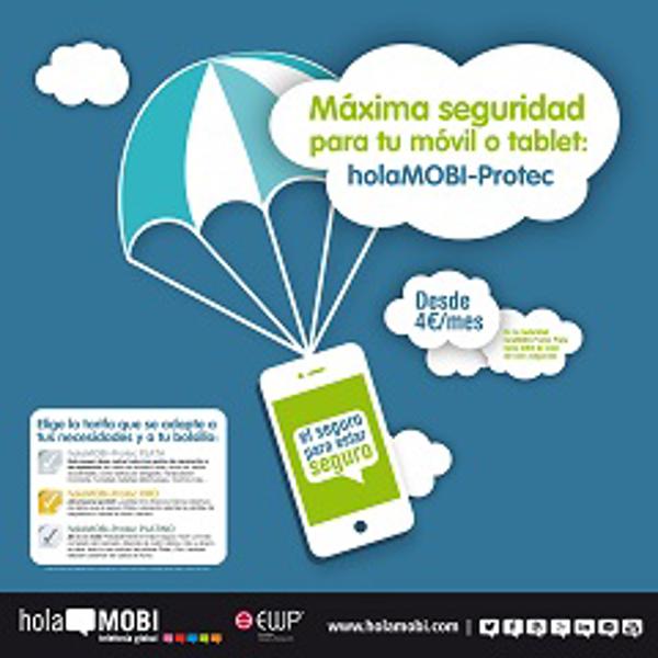 La franquicia holaMOBI crea una completa gama de seguros para móviles y tablets