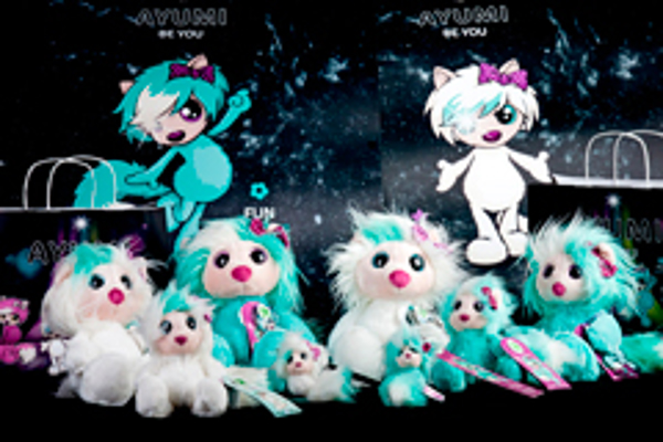 Los peluches Ayumi Be You ya disponibles en las franquicias Duldi