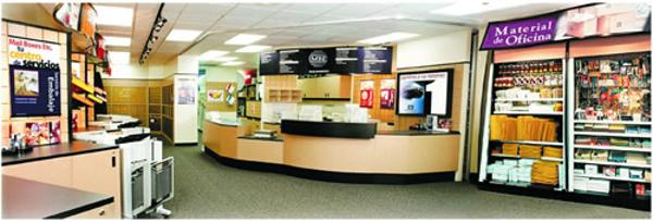 Las franquicias Mail Boxes Etc. detectan un incremento en la venta de productos relativos a papelería