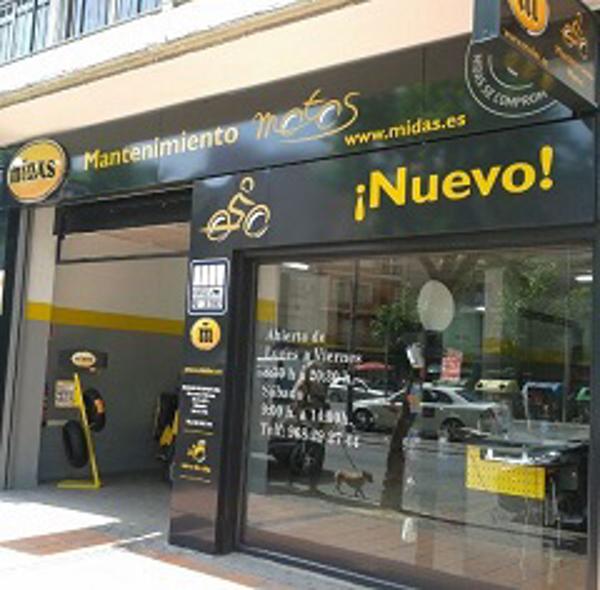 Midas franquicias, abre en Murcia su primer centro de reparación especializado en motos