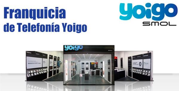 Franquicias Yoigo: Libertad, libertad cantan los móviles