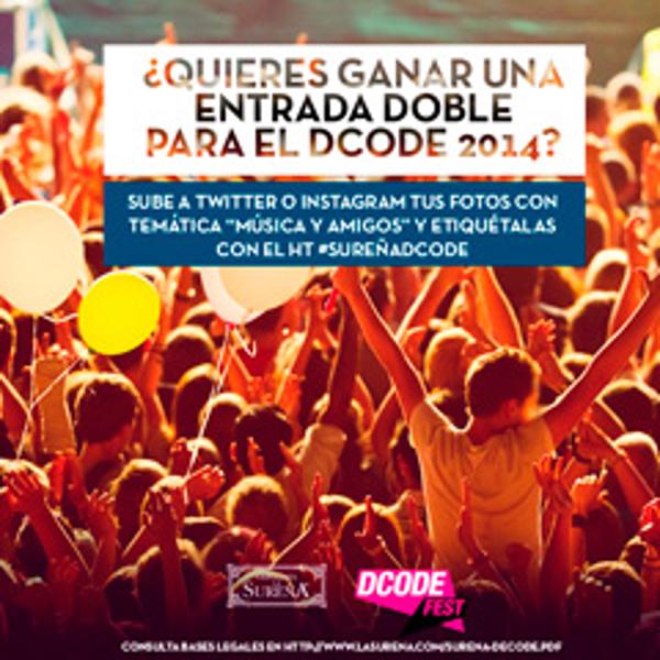 La red de franquicias La Sure�a te lleva al DCODE Festival