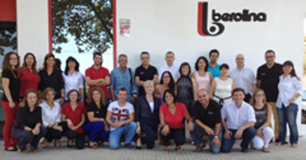 Termina el curso de Formación de las franquicias berolina en su sede central
