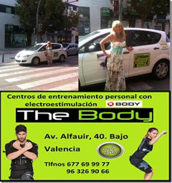 Las franquicias The Body han llegado a un acuerdo con los taxis de Valencia