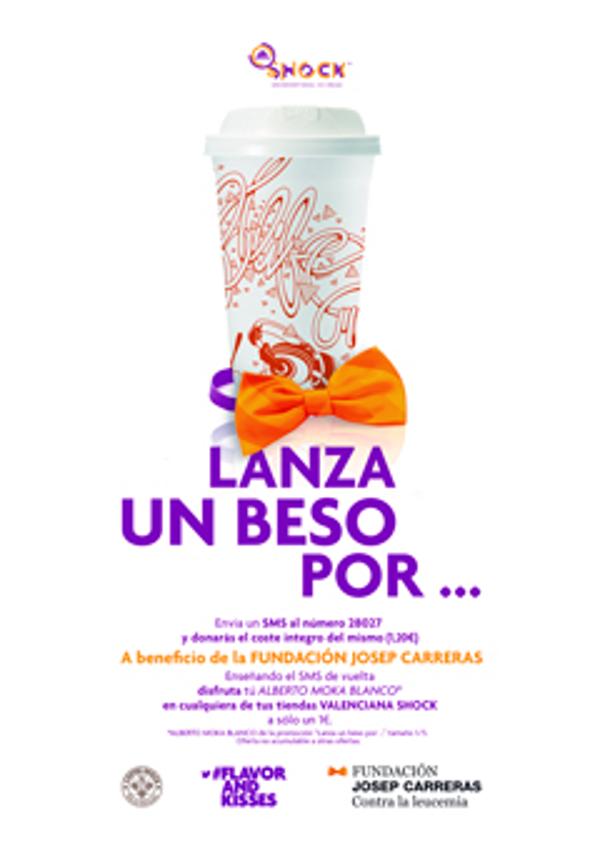 La franquicia Valenciana Shock se une a la Fundación Josep Carreras en su lucha contra la leucemia