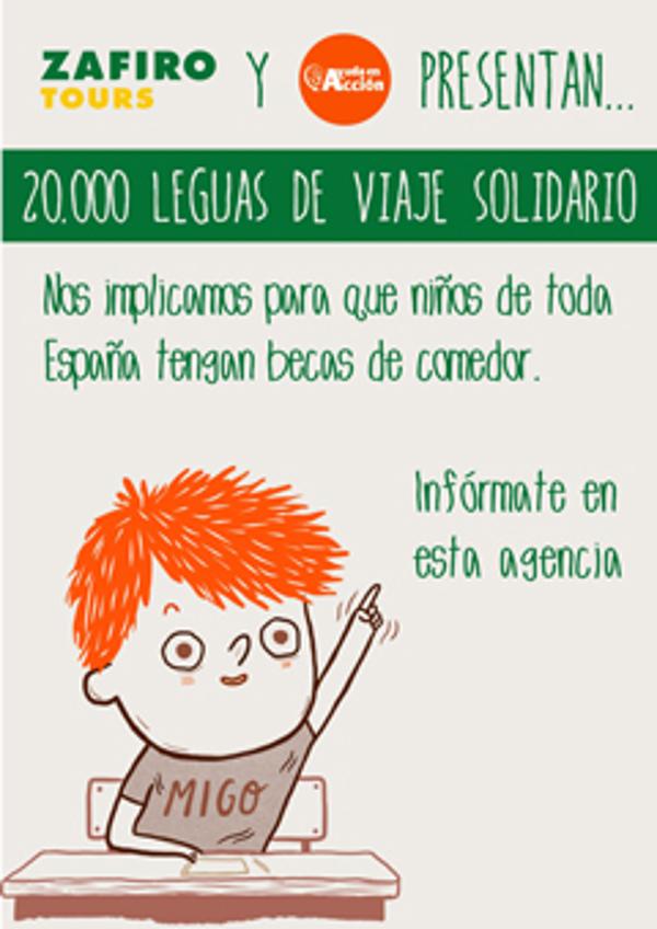 Las franquicias Zafiro Tours y Ayuda en Acción, unidos para apoyar a la infancia en España