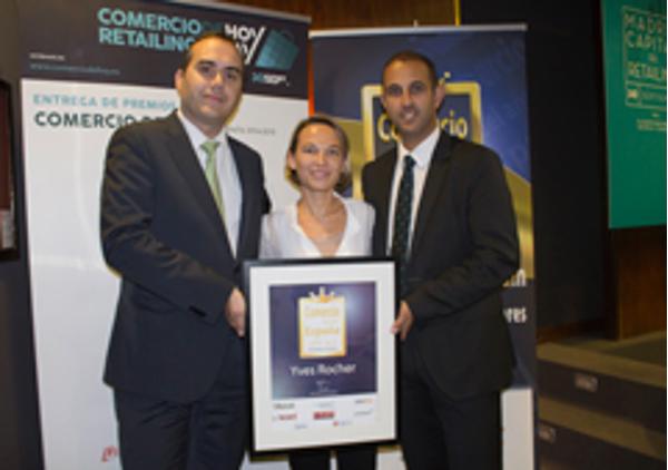 Las franquicias Yves Rocher elegidas 'Mejor Comercio de 2014' por las consumidoras españolas