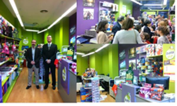 La  red de franquicias Punto dip, abre su  nuevo centro en Burgos