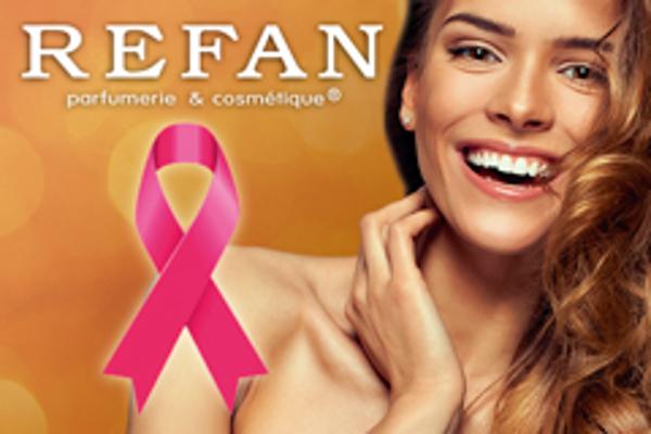 Las franquicias Refan colaboran en la lucha contra el cáncer de mama