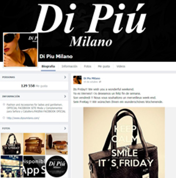 Di Piu Milano suma más de 290.000 fans de sus franquicias a través de redes sociales