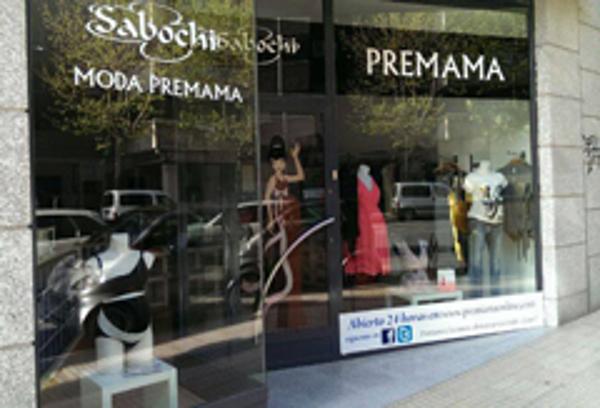 Las franquicias Sabochi moda premamá visten a Carolina Casado