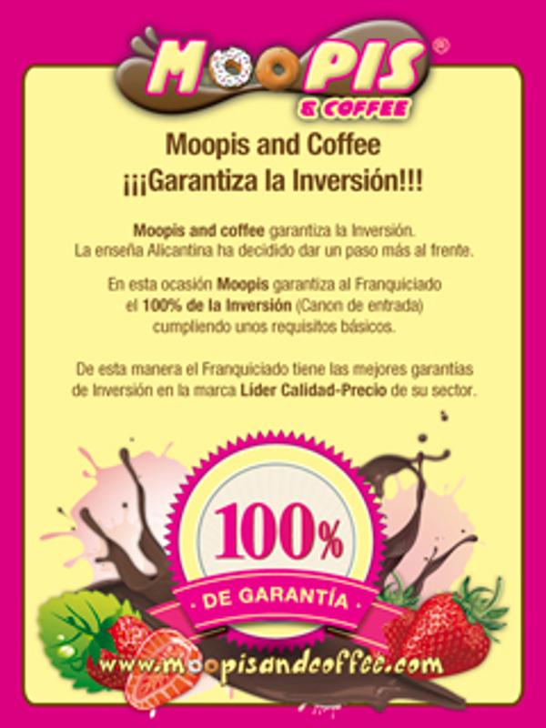 La red de franquicias Moopis And Coffee Garantiza la Inversión