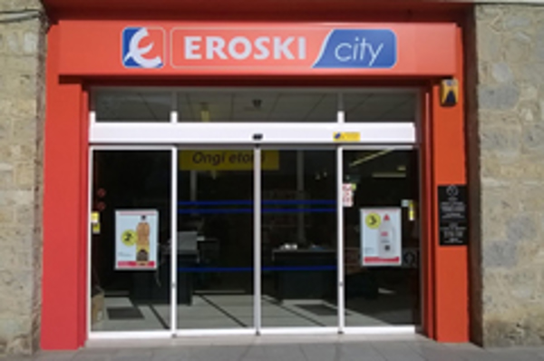 Grupo Eroski inaugura una nueva franquicia de supermercado en Alegría-Dulantzi
