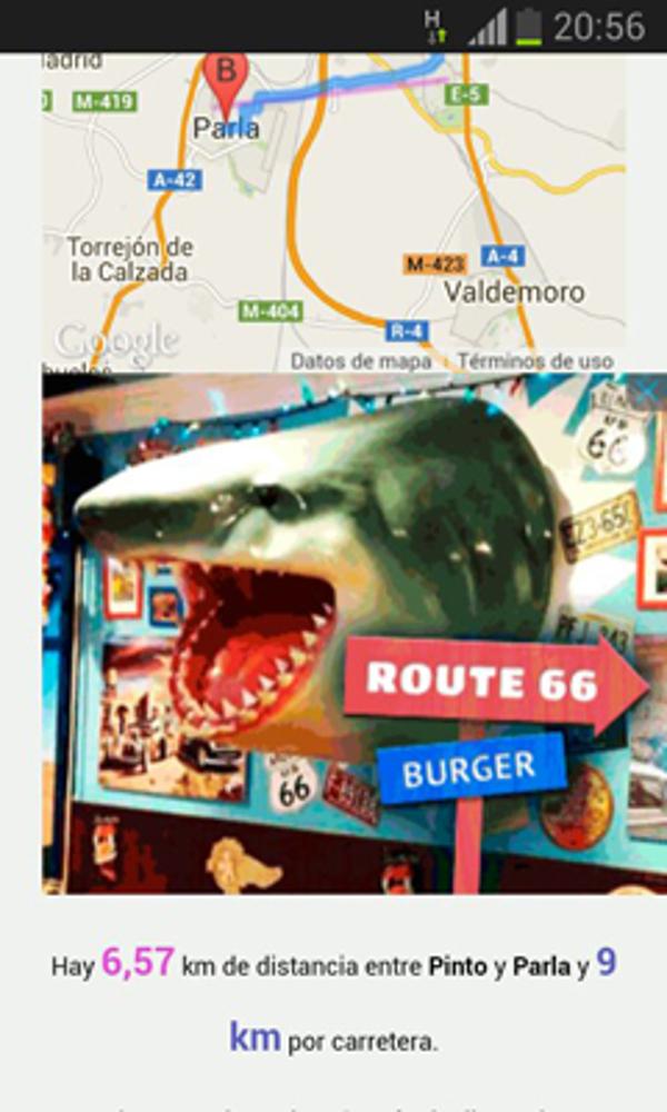 La franquicia Barba Rossa en Google Maps