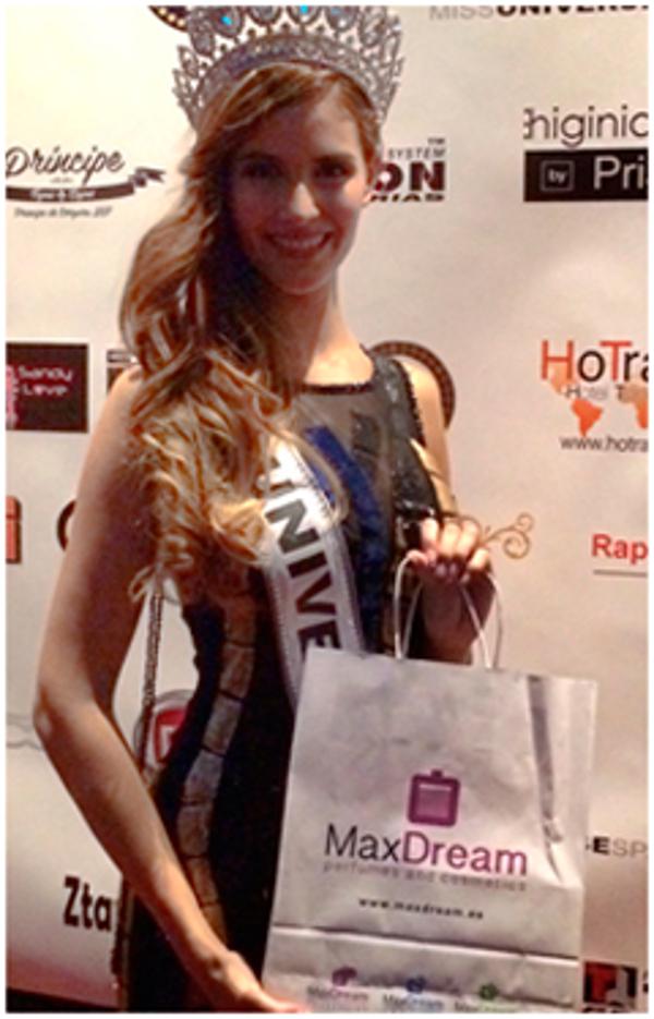 La red de franquicias MaxDream colabora en Miss Universo