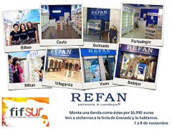 Refan estará presente en la feria de Franquicias de Granada