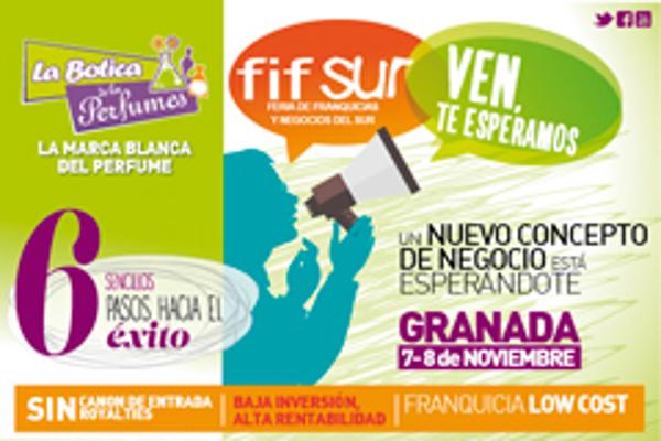 La Botica de los Perfumes estará presente en la feria de franquicias Fifsur Granada