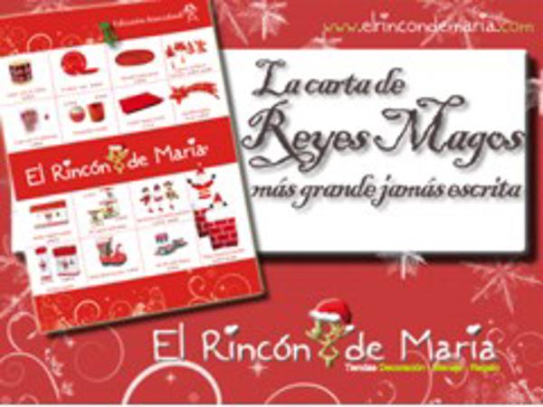 El Rincón de María logra reunir casi 500 referencias en su Folleto-Navidad