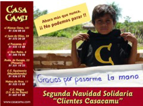 Casa Camu colabora en la campaña solidaria en ayuda a la Comunidad de Naranjito
