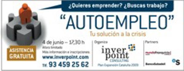 Inverpoint Consulting  organiza  la conferencia �Autoempleo: una alternativa en tiempos de crisis�