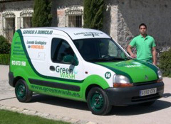 Green Wash apuesta por el lavado de vehículos a domicilio