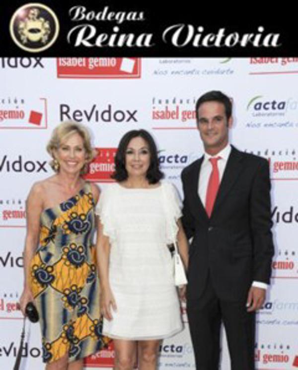 Bodegas Reina Victoria patrocina la Cena Benéfica de la Fundación Isabel Gemio