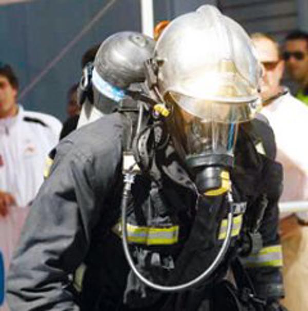 La franquicia Infolocalia patrocina al bombero más rápido del mundo