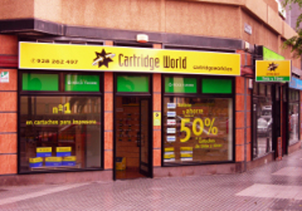 La franquicia Cartridge World sigue creciendo en Las Palmas de Gran Canaria