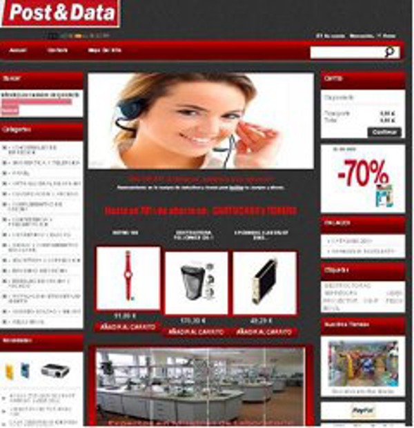 Apertura de la franquicia Post&Data de su nueva tienda on line