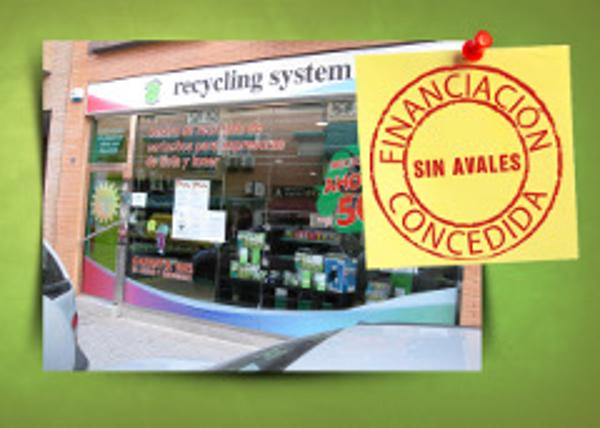 Recycling System franquicia, financia el 80% de la inversión total, sin ningún tipo de Aval