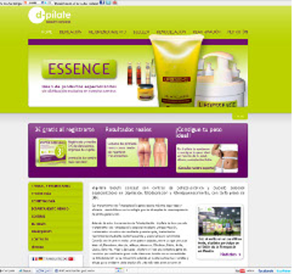 Nueva web 2.0 de la franquicia D-pílate