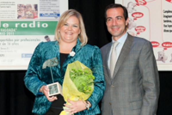 Catalina Hoffmann recibe el reconocimiento del Grupo Vaguada a la franquicia Vitalia