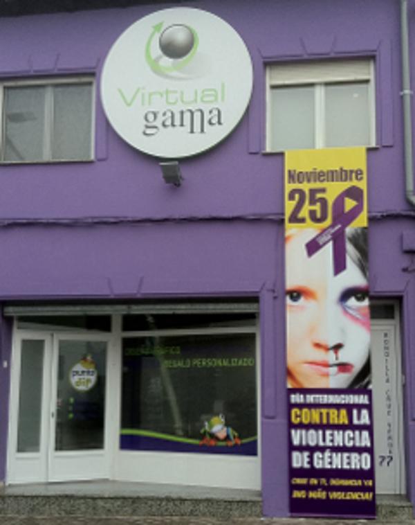 La franquicia Virtual Gama apoya a las víctimas de la violencia de genero