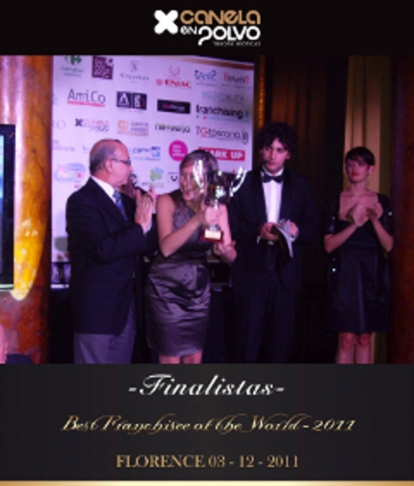 Canela en Polvo franquicia finalista en The Best Franchisee of the World 2011