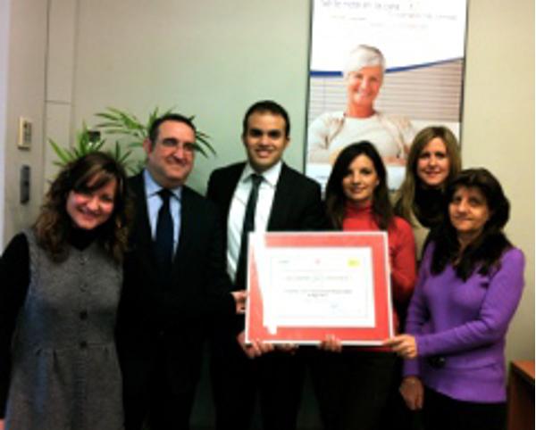 La franquicia Interdomicilio recibe el Premio Empresa Familiarmente Responsable