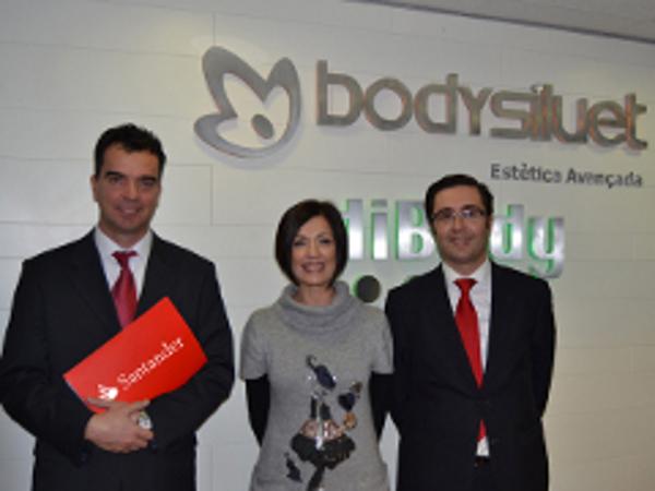 Convenio de colaboración entre la franquicia Bodysiluet y Banco Santander