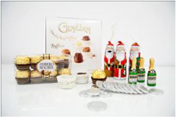 Encuentra todos los héroes navideños en chocolandia de la franquicia Dulce Diseño