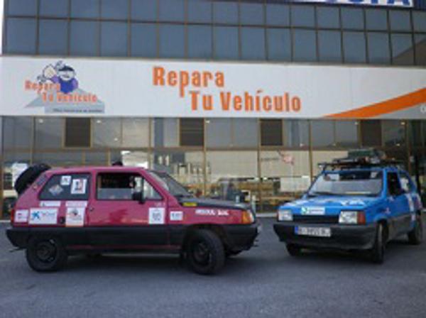 La franquicia Repara Tu Vehículo, patrocinó el IV Rally Panda Raid