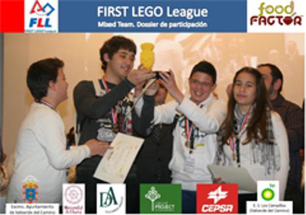 La franquicia Natural Project patrocinó un equipo en  la First Lego League