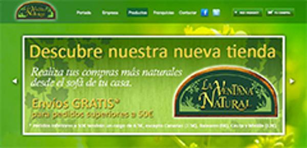 La franquicia La Ventana Natural inaugura tienda online