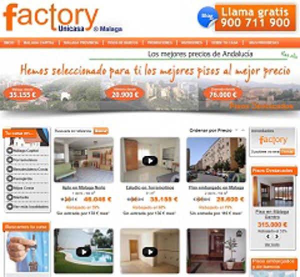 La franquicia Unicasa Factory renueva su web