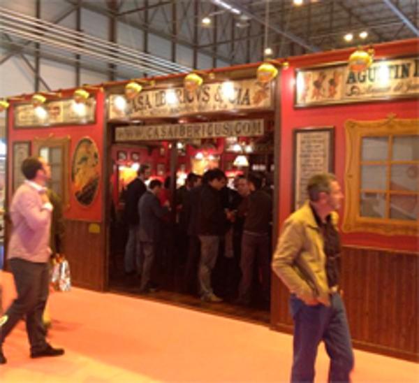 Gran éxito de la franquicia Casa Ibericus & Cia en Expofranquicia 2012