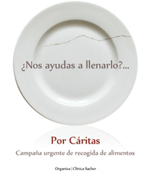 Las franquicias Clínica Sacher inician una campaña de recogida de alimentos