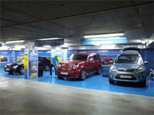 La franquicia DetailCar por fin en el Parking el Paseo de Ourense